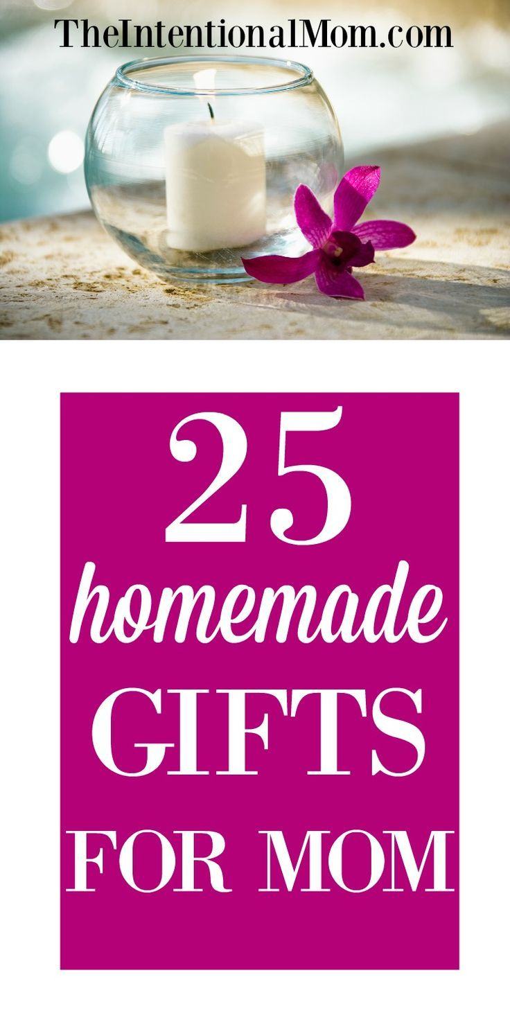 25 homemade gifts for moms homemade mothers day gifts