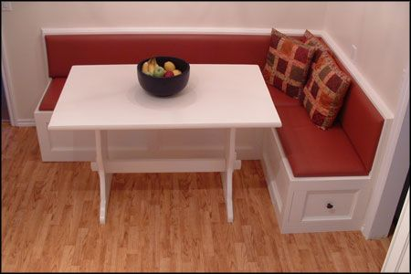 banquette corner bench seating | This ia an example of a