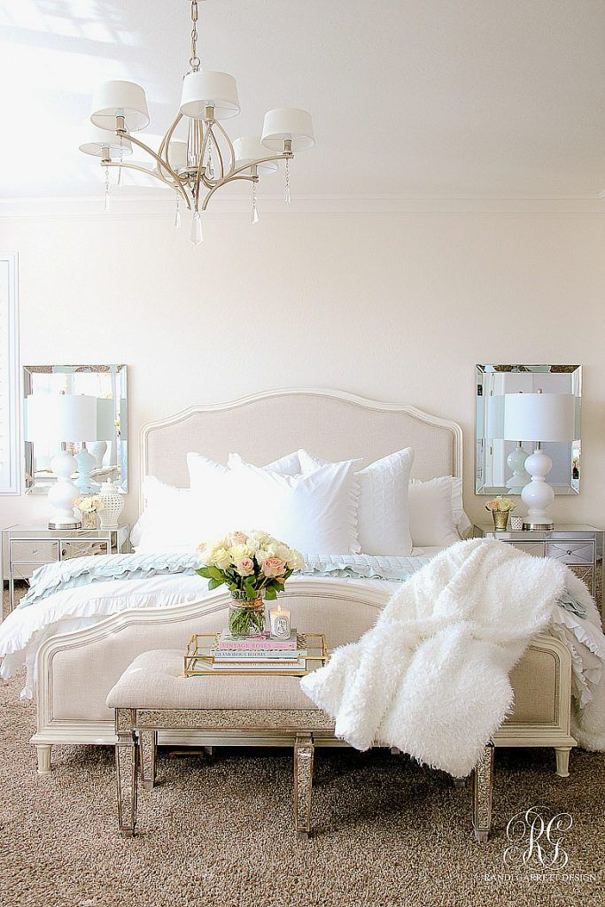 Elegant Romantic Bedrooms: Elegant Master Bedroom Makeover