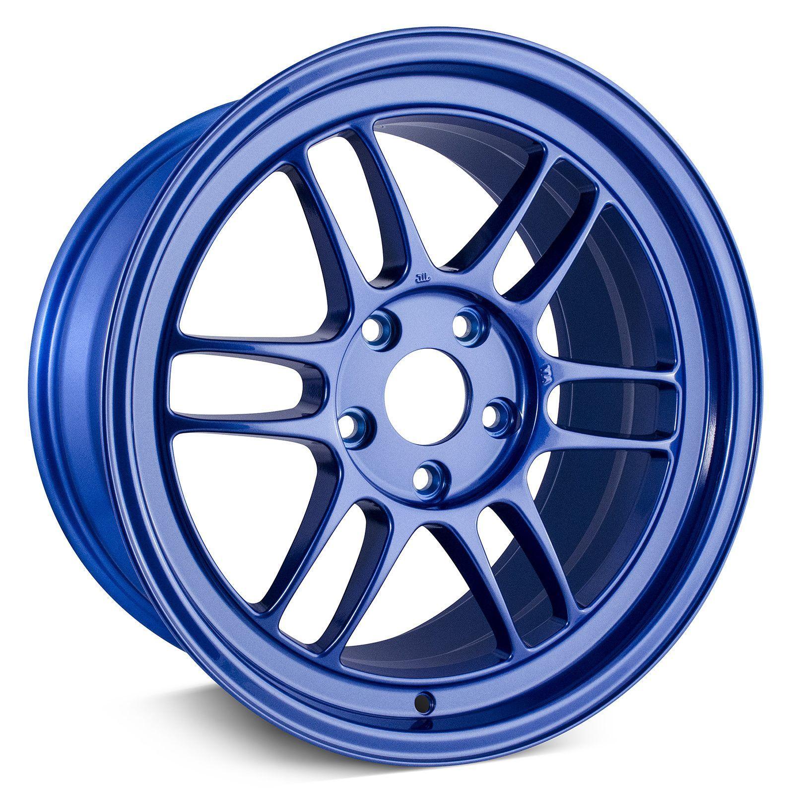 Enkei rpf1 blue wheel 17x9 rim size 5x1143 bolt