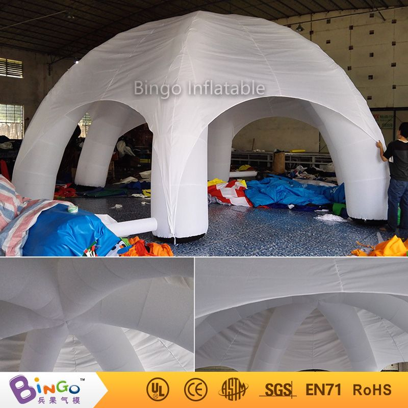 Aliexpress Com Buy Portable Inflatable Spider Tent With 4 Legs 8 8m 26 26ft For Events Commercial Use From Reliable Inflatable Te Pod Tents Tent Price Tent