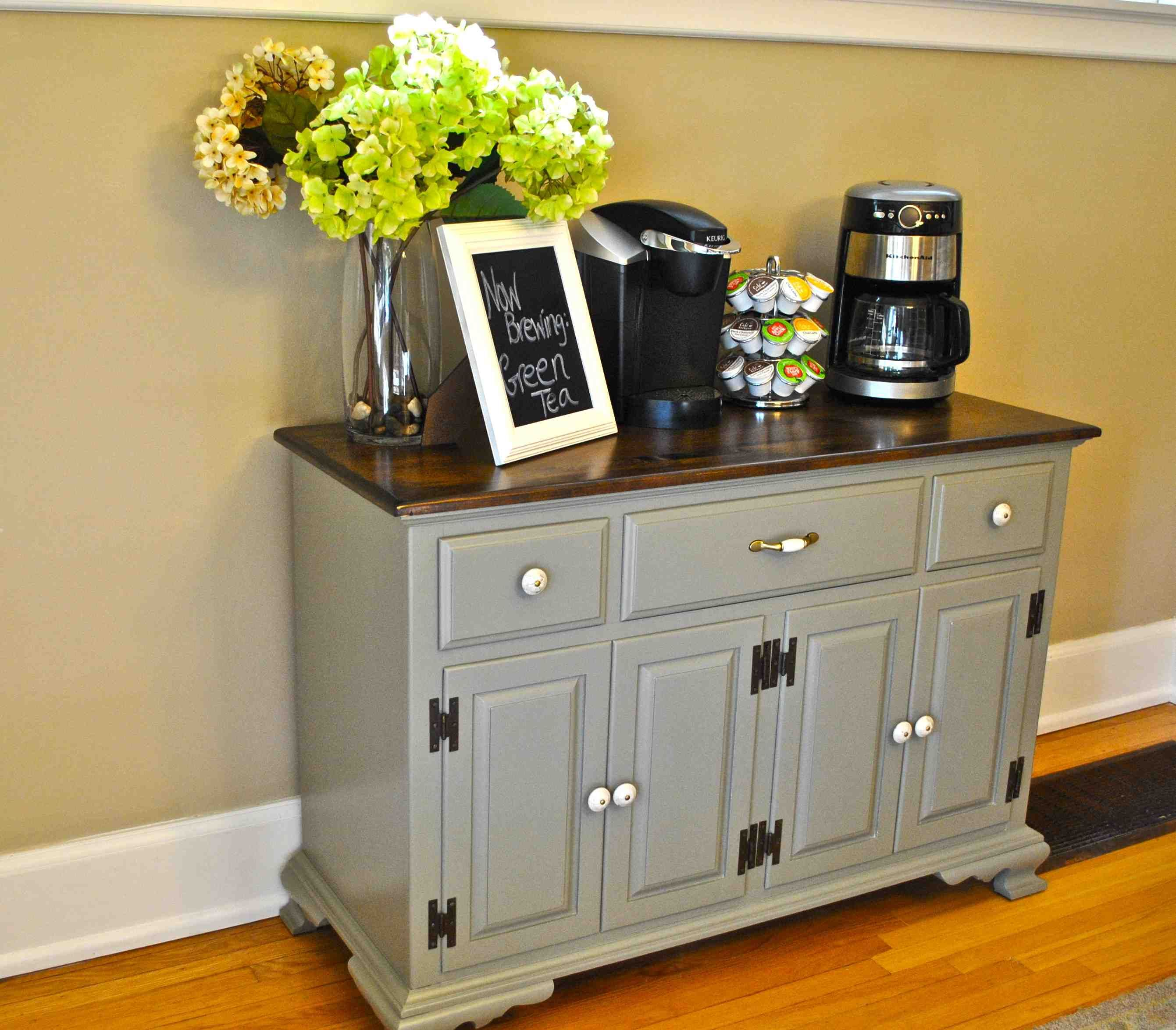 Office Coffee Bar Furniture: Coffee Buffet... Love This For The Empty Space I Have In