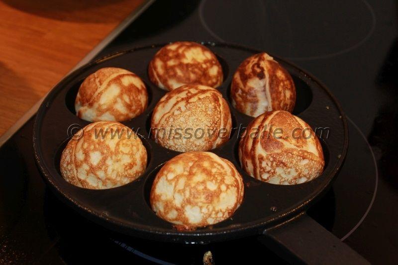 Aebleskiver Ebelskiver Spherical Pancakes Recipe Aebleskiver Baking Sweets Pancakes