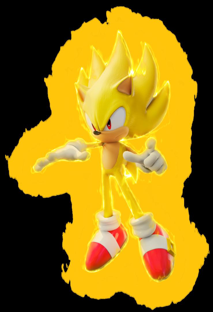Dessin Super Sonic