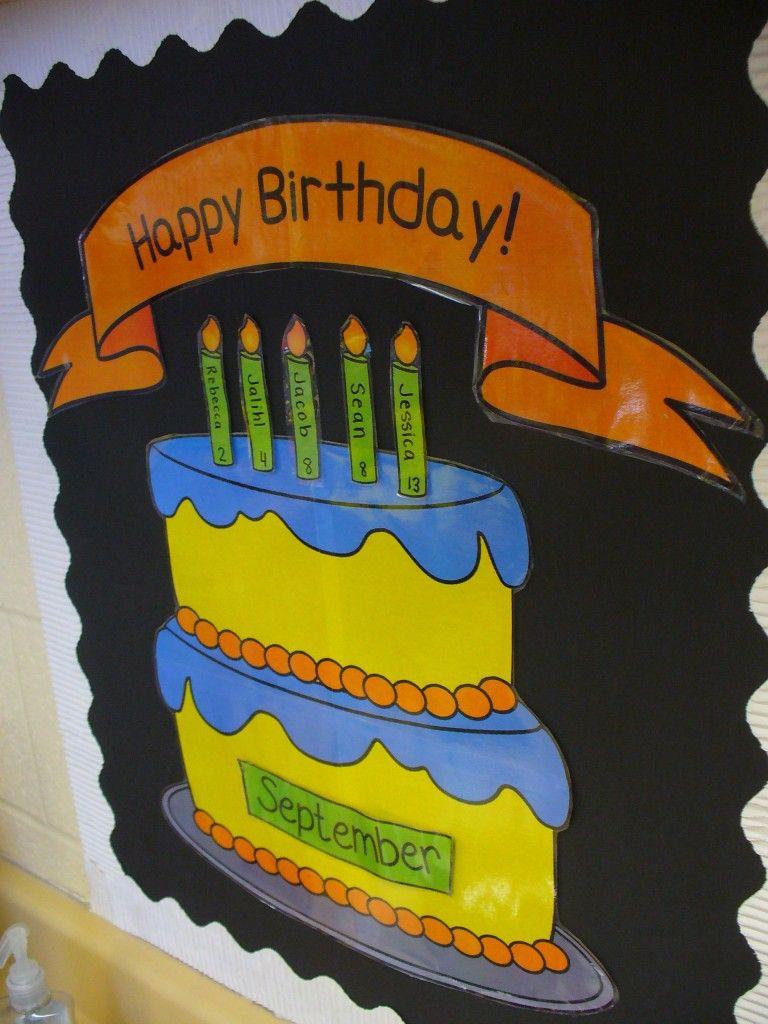 P1030996 Reading Pinterest Classroom Birthday Displays