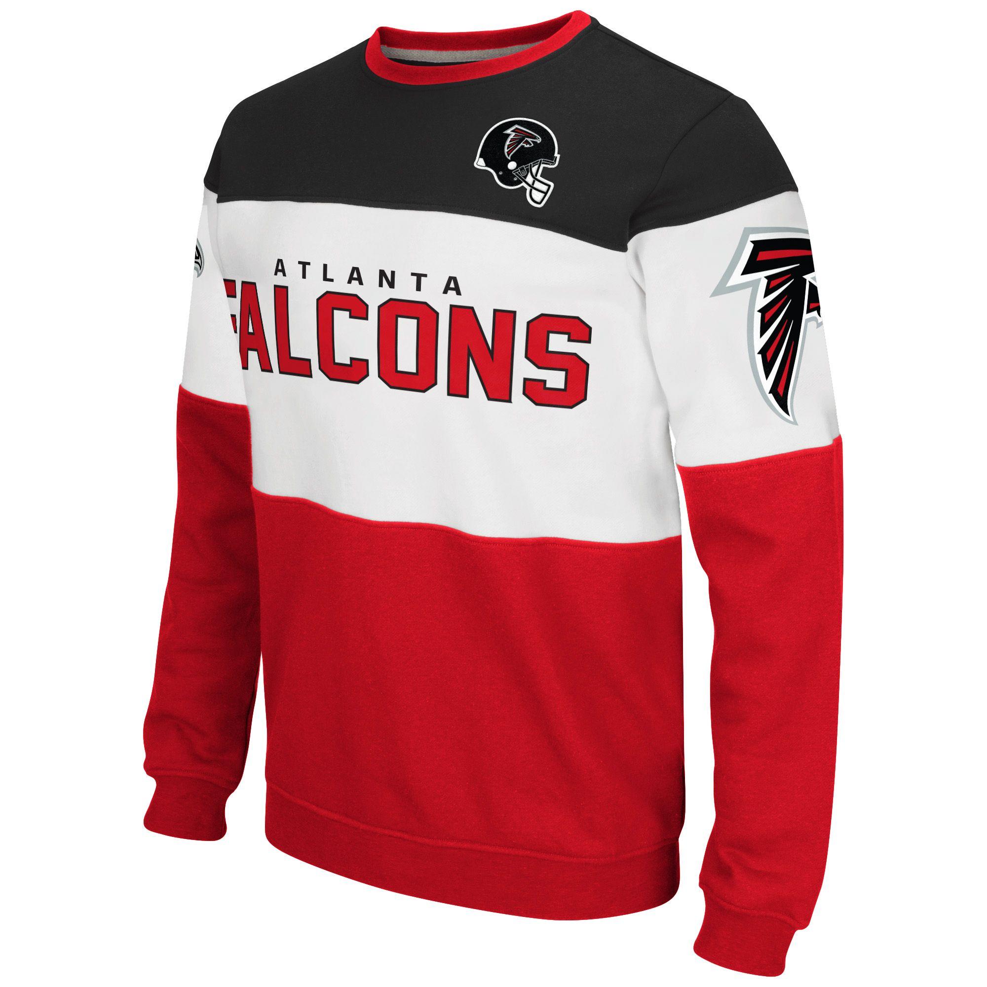 NFL Atlanta Falcons G III Extreme Supreme Fleece Sweatshirt Black
