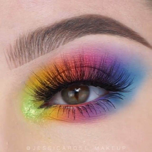 Photo of COTTON CANDY EYE MAKEUP