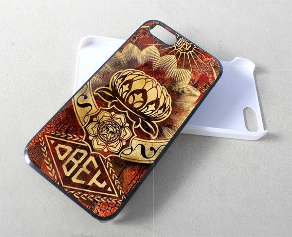 Lotus Obey for iPhone 4/4s/5/5s/5c, Samsung Galaxy s3/s4 case