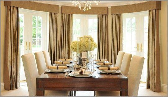 Drapes Family Room Dining Room Window Treatments Dining Room Curtains Elegant Dining Room