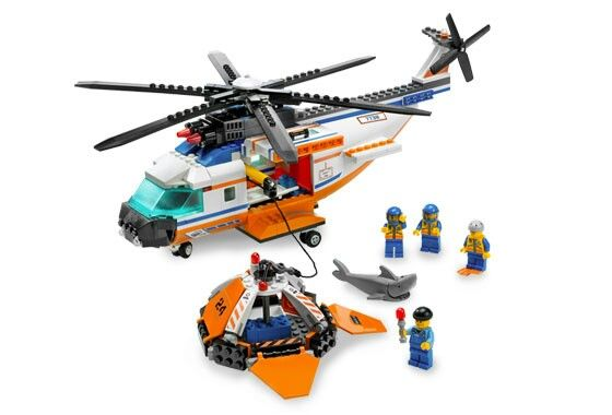 Lego Coast Guard Helicopter And Life Raft Lego Wish List