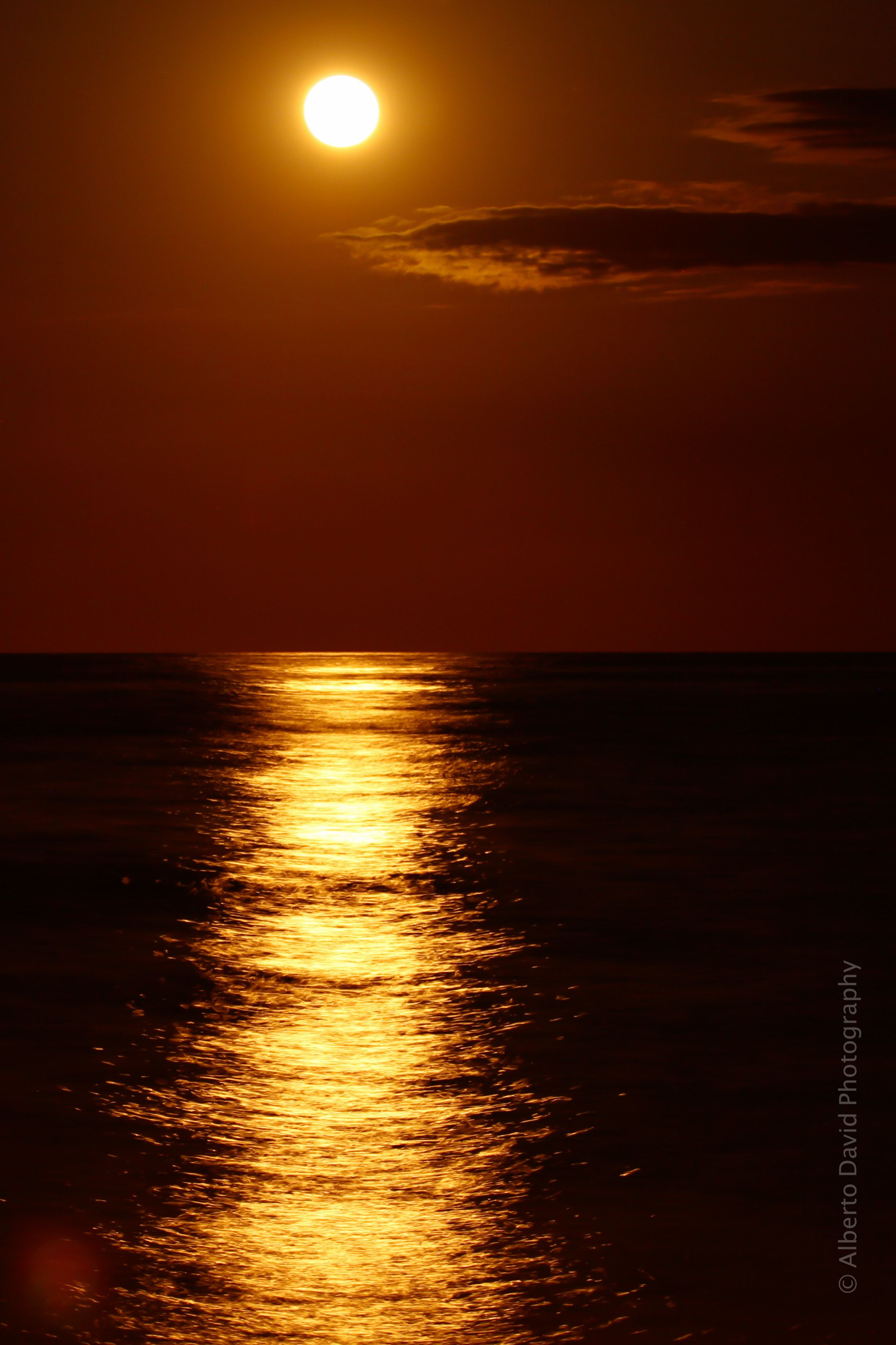Full moon nights.