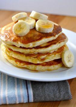 Barefoot Contessa Banana Sourcream Pancakes Banana Pancakes Recipe Food Recipes