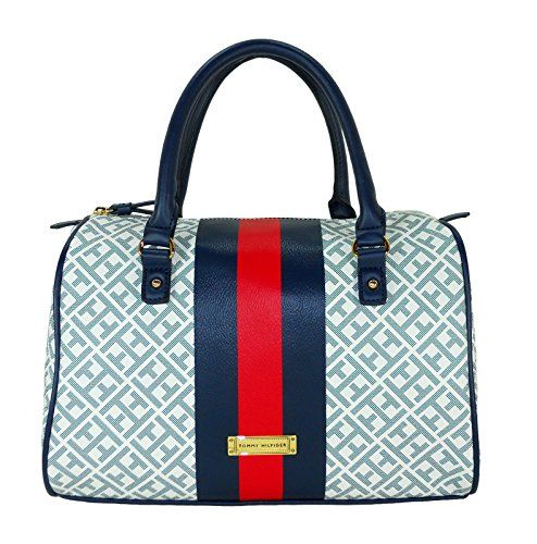 Tommy Hilfiger Women Handbag Bowler Satchel Outlet Handbags