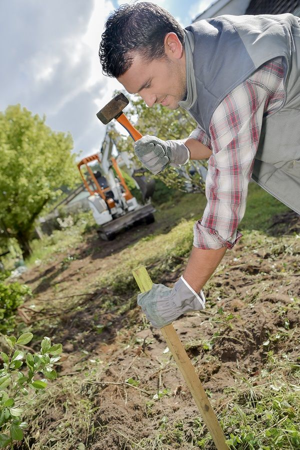 How to Level a Yard, Lawn or Garden | Leveling yard, Lawn