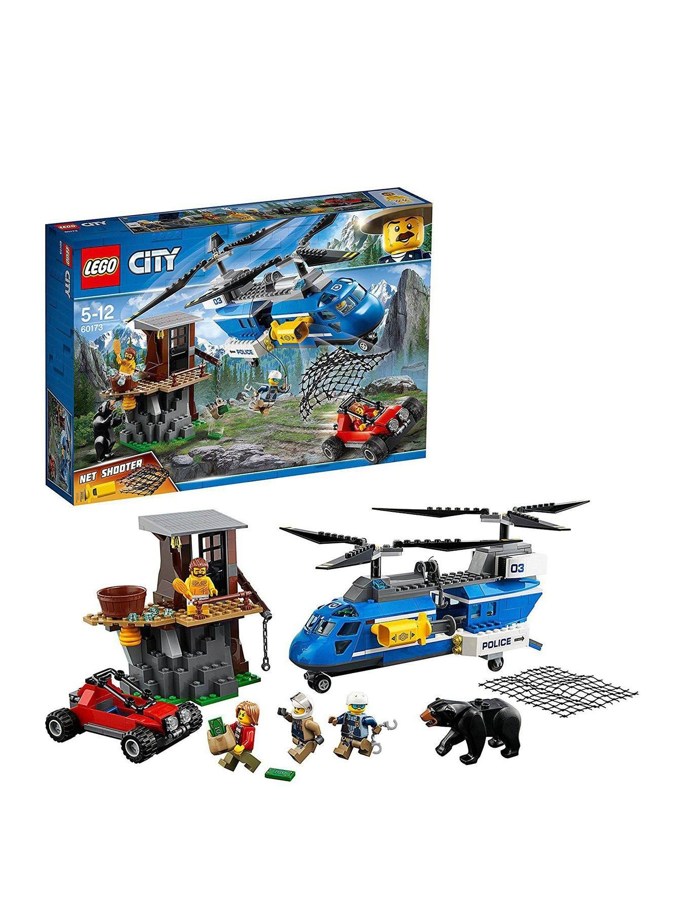 Lego City 60173 Police Mountain Arrest In One Colour Products In 2019 Lego City Joining The Police Police Story