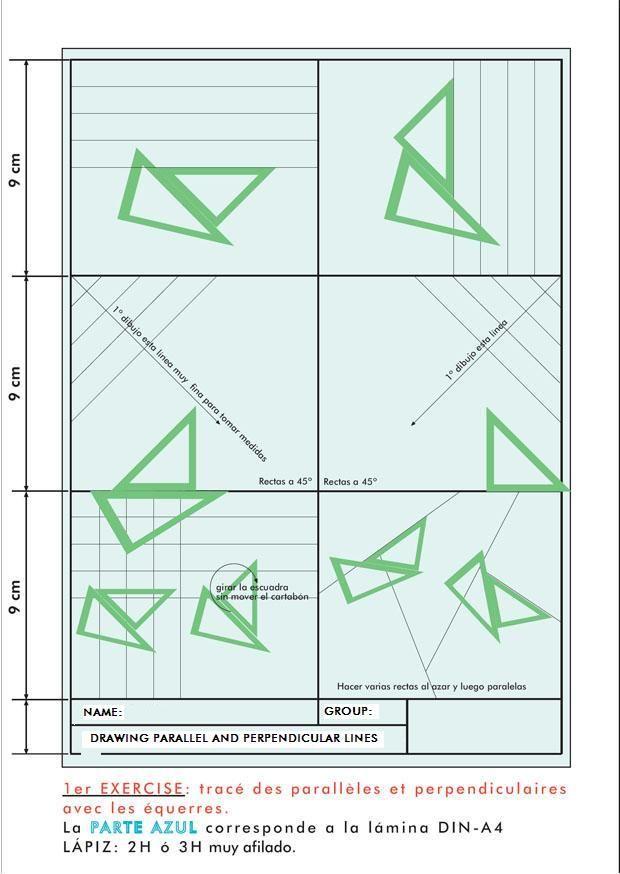 Escuadra Y Cartabon Buscar Con Google Tecnicas De Dibujo Dibujo Tecnico Ejercicios Dibujo Geometrico