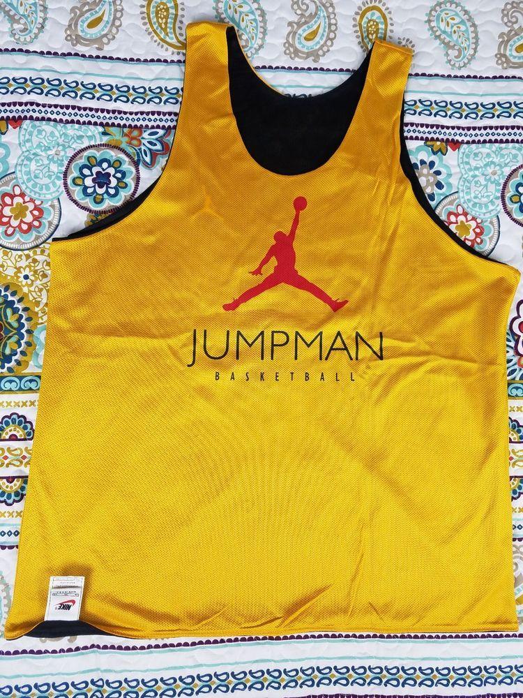 Nike Michael Jordan Vintage Taxi 12 XII Basketball Tank Top Jersey XL  Reversible  MichaelJordan 7af2117a2