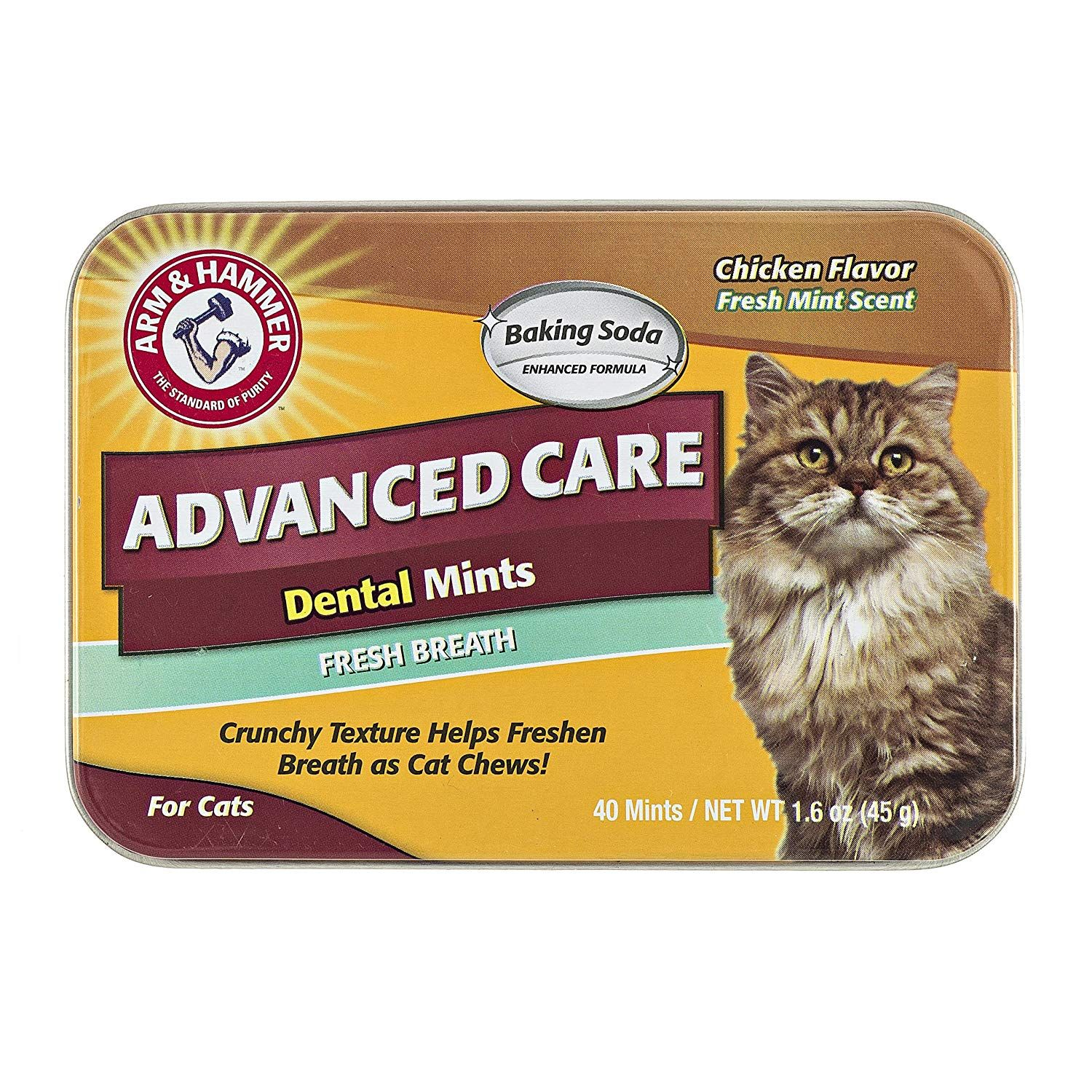 Arm And Hammer Advanced Care Dental Mints For Cats Chicken Flavor Be Sure To Check Out This Awesome Product Cat Breath Cat Dental Health Pet Dental Care