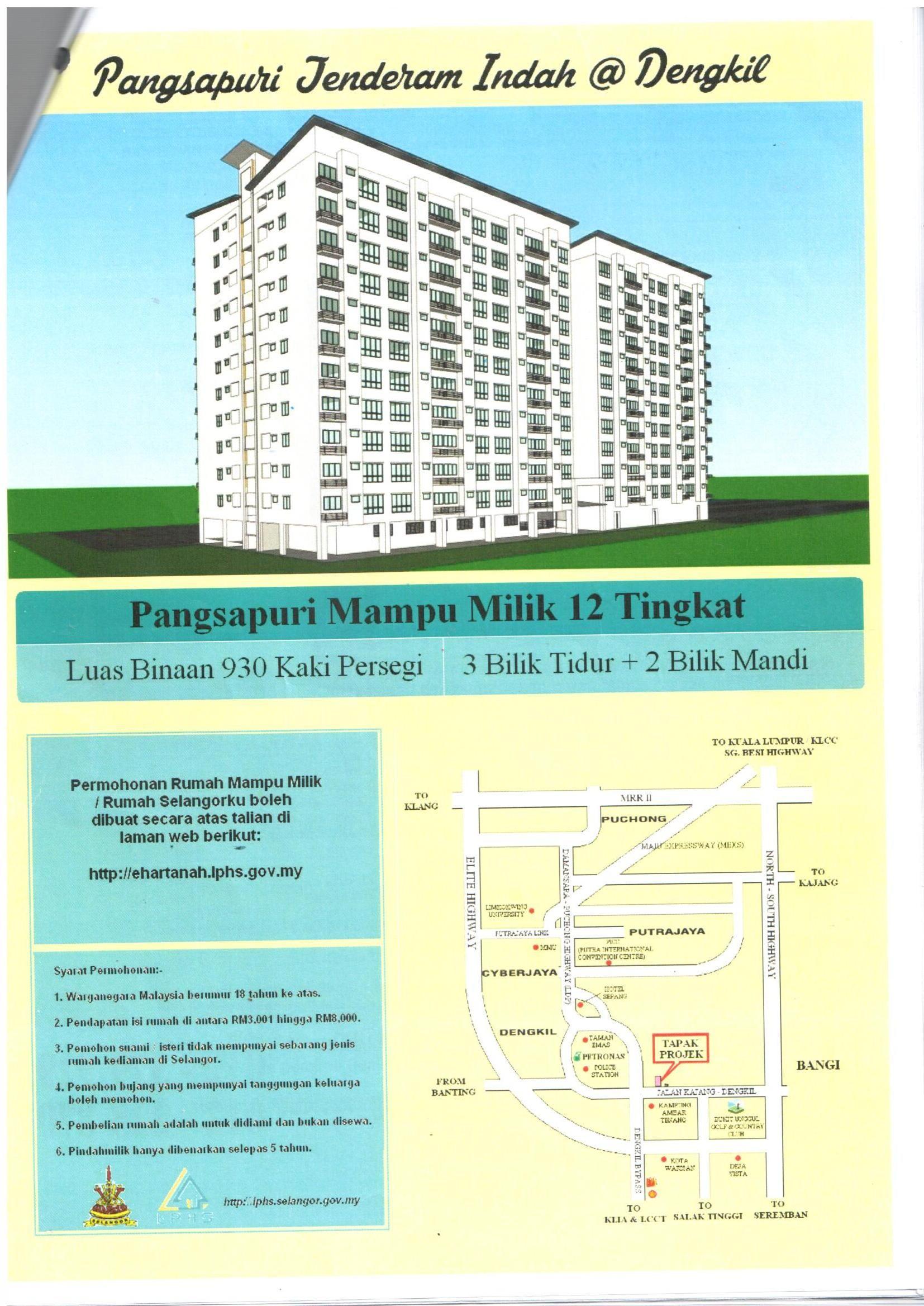 Pendaftaran Perumahan Dan Hartanah Selangor Selangor Dan Map