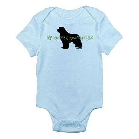 I Love My Nanny Cute Infant Bodysuit Baby Romper CafePress