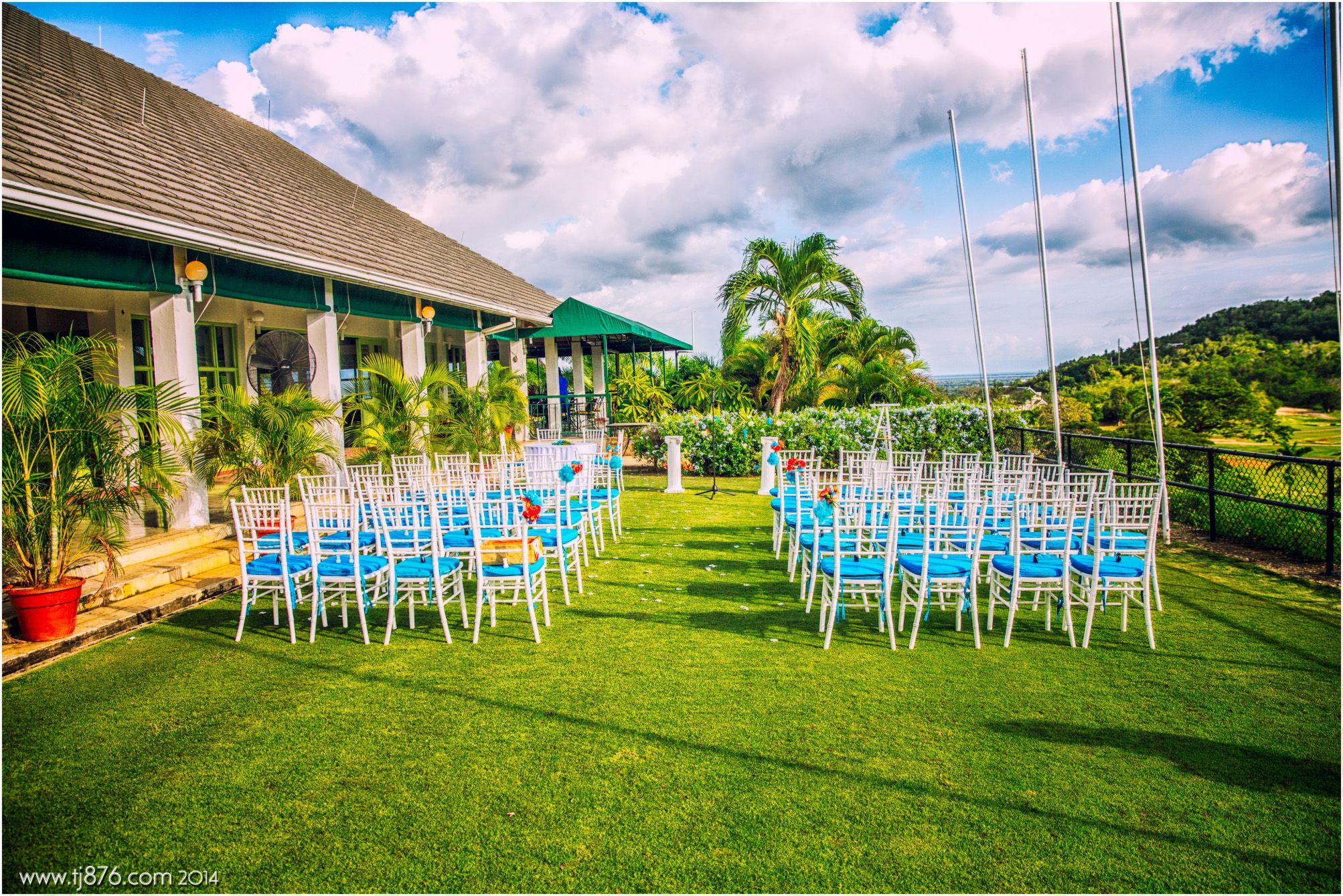 Caymanas golf club wedding venue location in jamaica