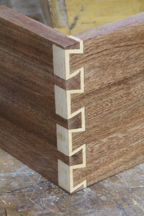 How To Make Inlay Dovetails My Woodshop Woodworking