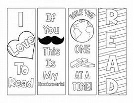 Image Result For Print Out Bookmarks To Color Coloring Bookmarks Bookmarks Printable Bookmarks