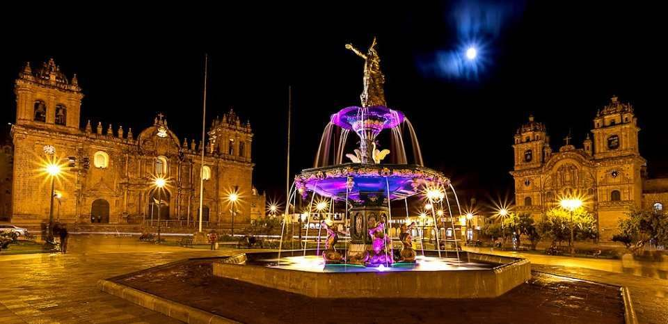 Plaza De Armas Del Cusco. #Night. | Cusco, Machu picchu, Tours