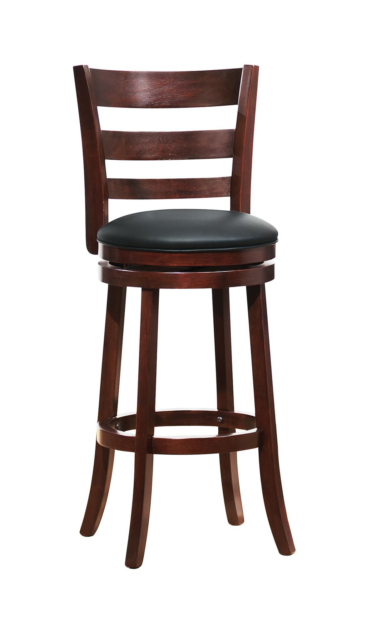 Counter & Bar Swivel Stool Leather swivel bar stools