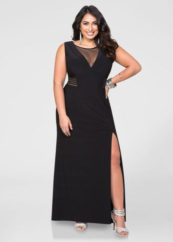 Mesh Special Occasion Dress