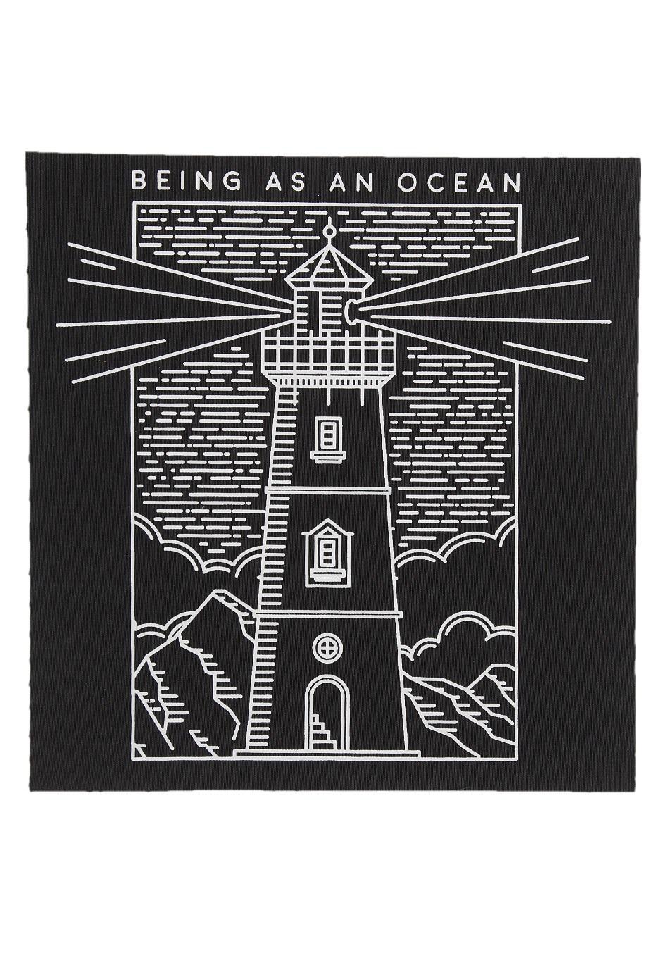Being As An Ocean Lighthouse Backpatch Official Merch Store
