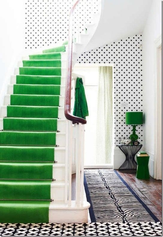 Choosing A Stair Runner: Some Inspiration And Lessons Learned This Is A  Stanton Carpet Called