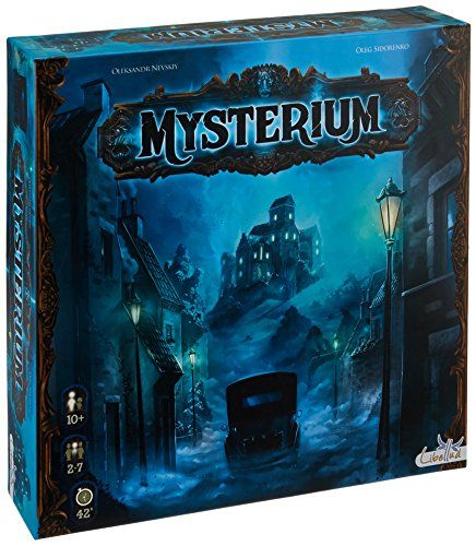 Mysterium Strategy Board Games Board Games Fun Board Games
