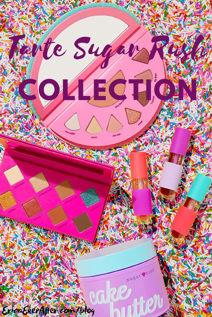 Tarte Sugar Rush Candy Inspried Makeup Collection Sugar