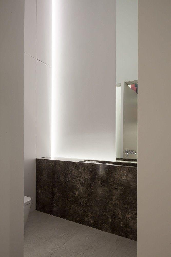 Gallery of DM Residence / CUBYC architects bvba - 16 Bäder - badezimmer einrichten ideen