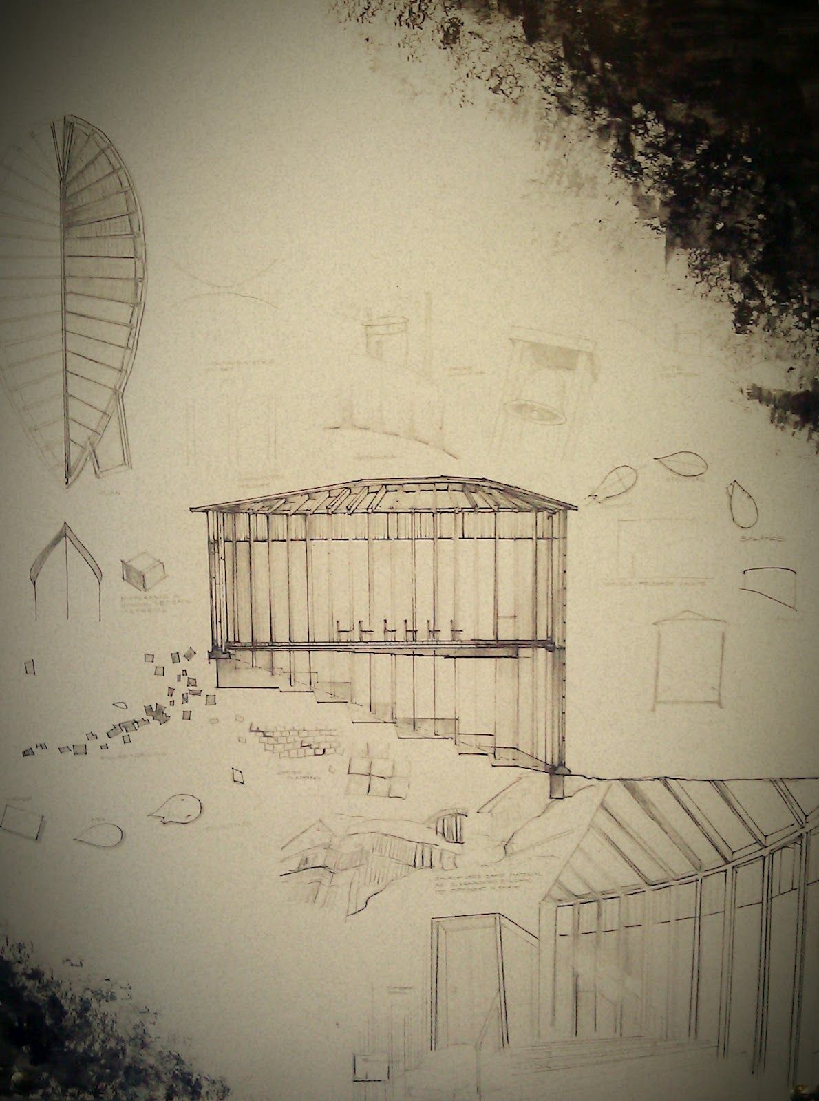 Drawing for St. Benedict's Chapel. Peter Zumthor | 建筑 ...