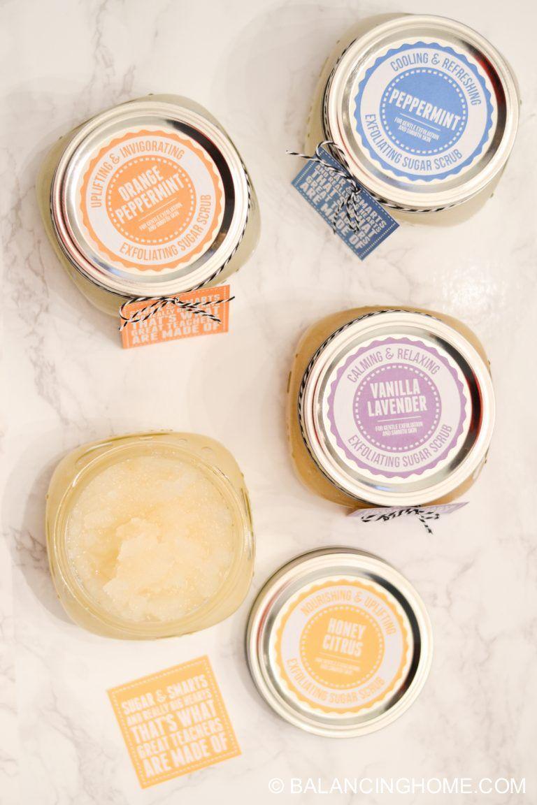60 Homemade Sugar Scrub Labels