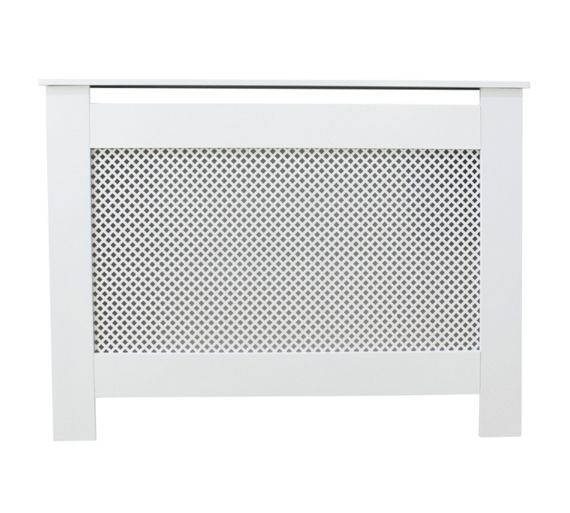 Buy HOME Odell Small Radiator Cover - White at Argos.co.uk, visit ...