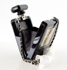 177145e9ed3 CHANEL bag black Perfume Bottle Limited Edition New Gift Box