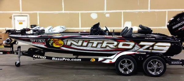 Custom Bass Boat Wraps | 2013 Boat Wrap Photo Gallery Updated