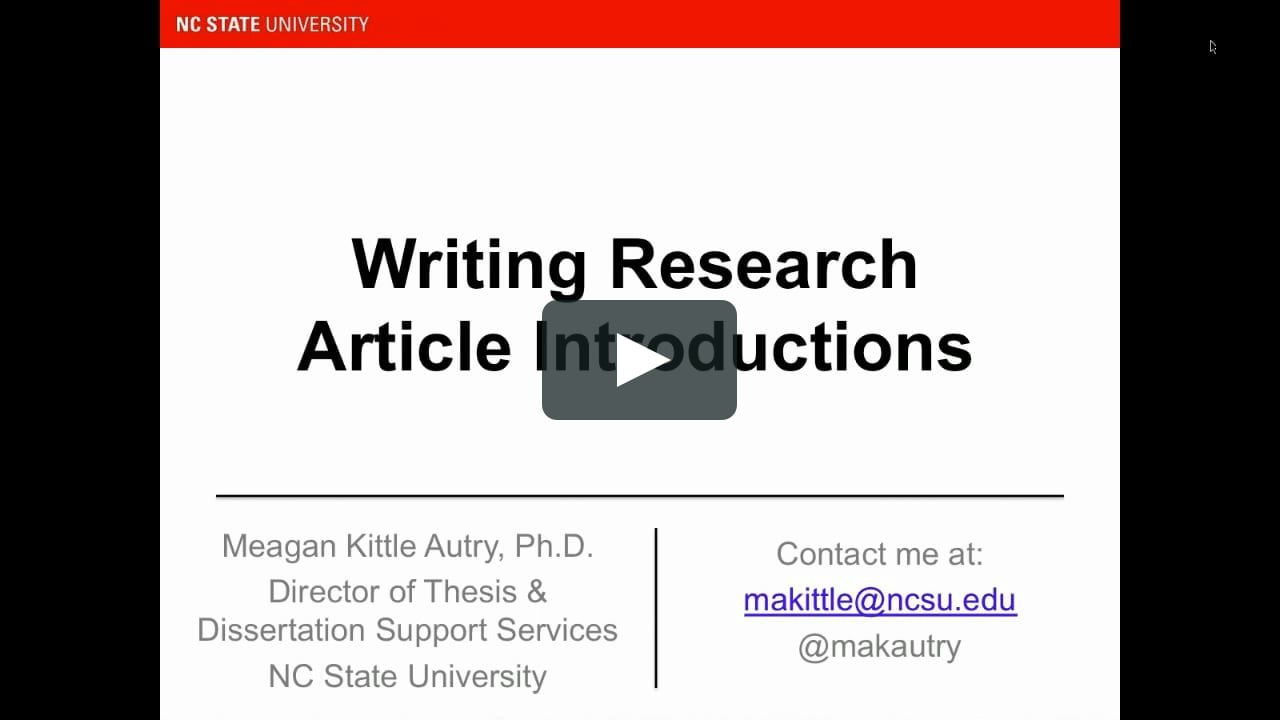 How To Write An Introduction That Will Get Your Article Accepted The I Arguably Writing Overused Words Dissertation Editor Near Me