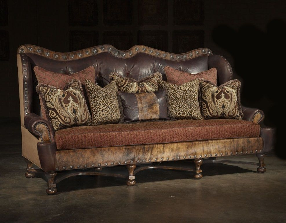 Tuscan Style Sofa Tuscan Style Sofa Old World Leather