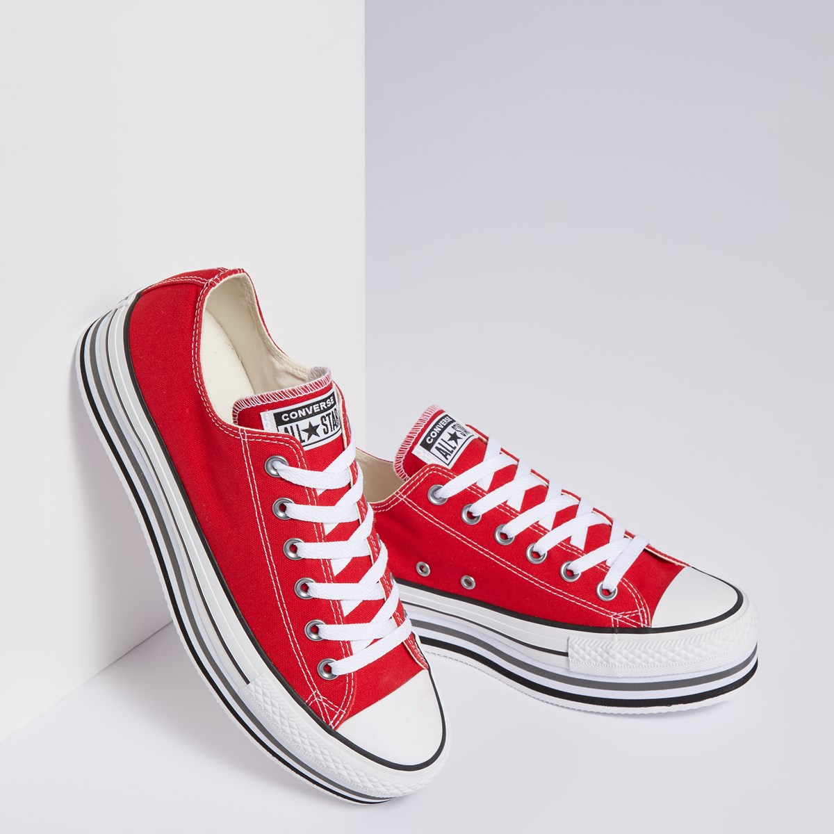 converse rouge femme basse