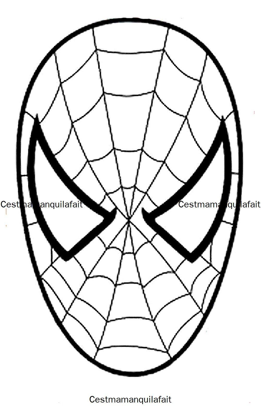 masque de spiderman birthdays pinterest spiderman man cake