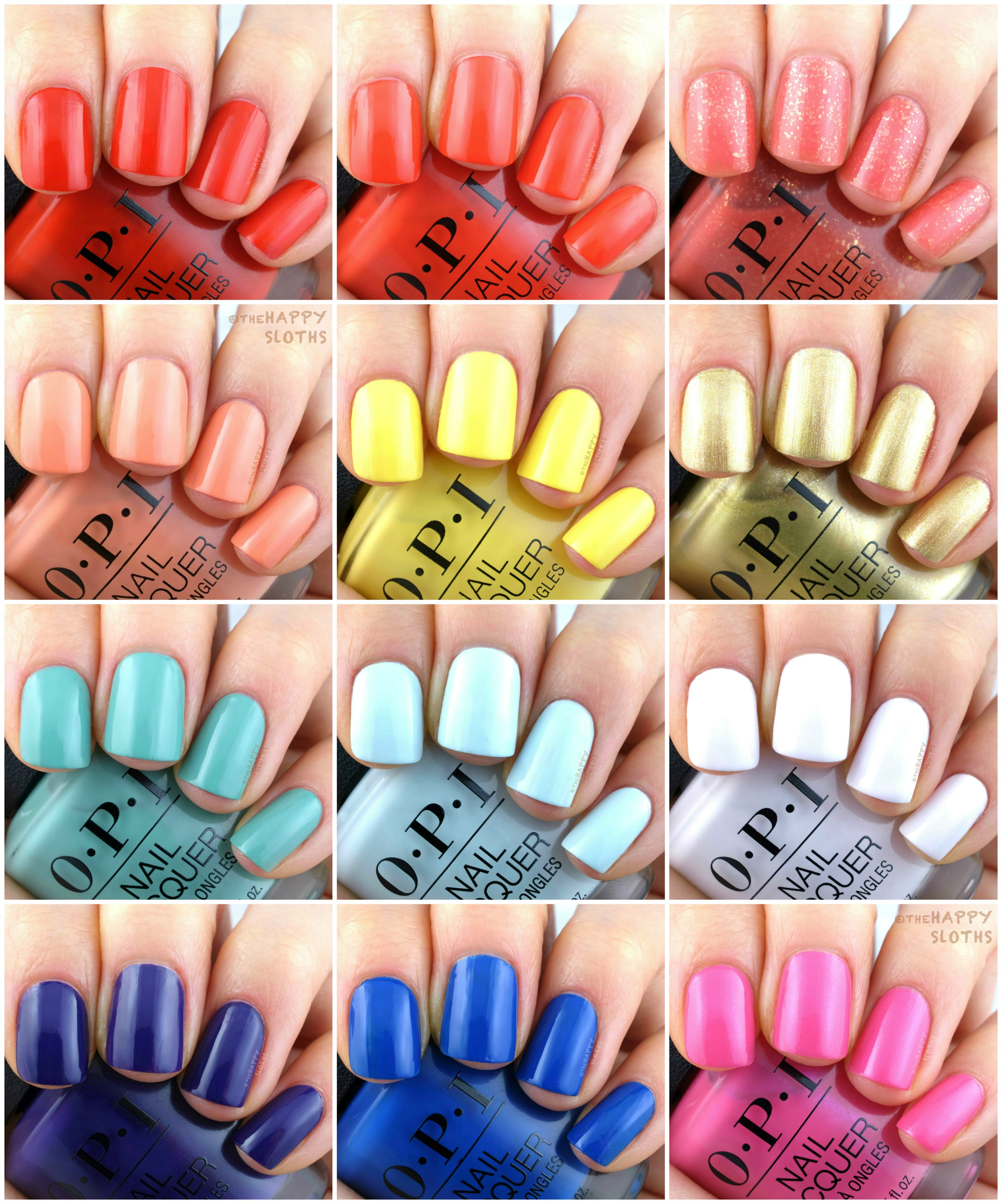 Opi In 2020 Opi Gel Nails Opi Nail Colors Spring Nail Polish
