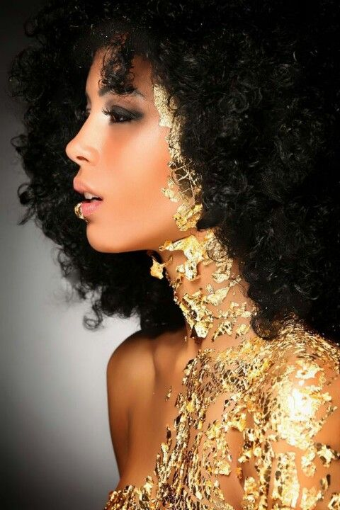 Golden Afro   VISIT US FOR #HAIRSTYLES AND #HAIR ADVICE  WWW.UKHAIRDRESSERS.COM