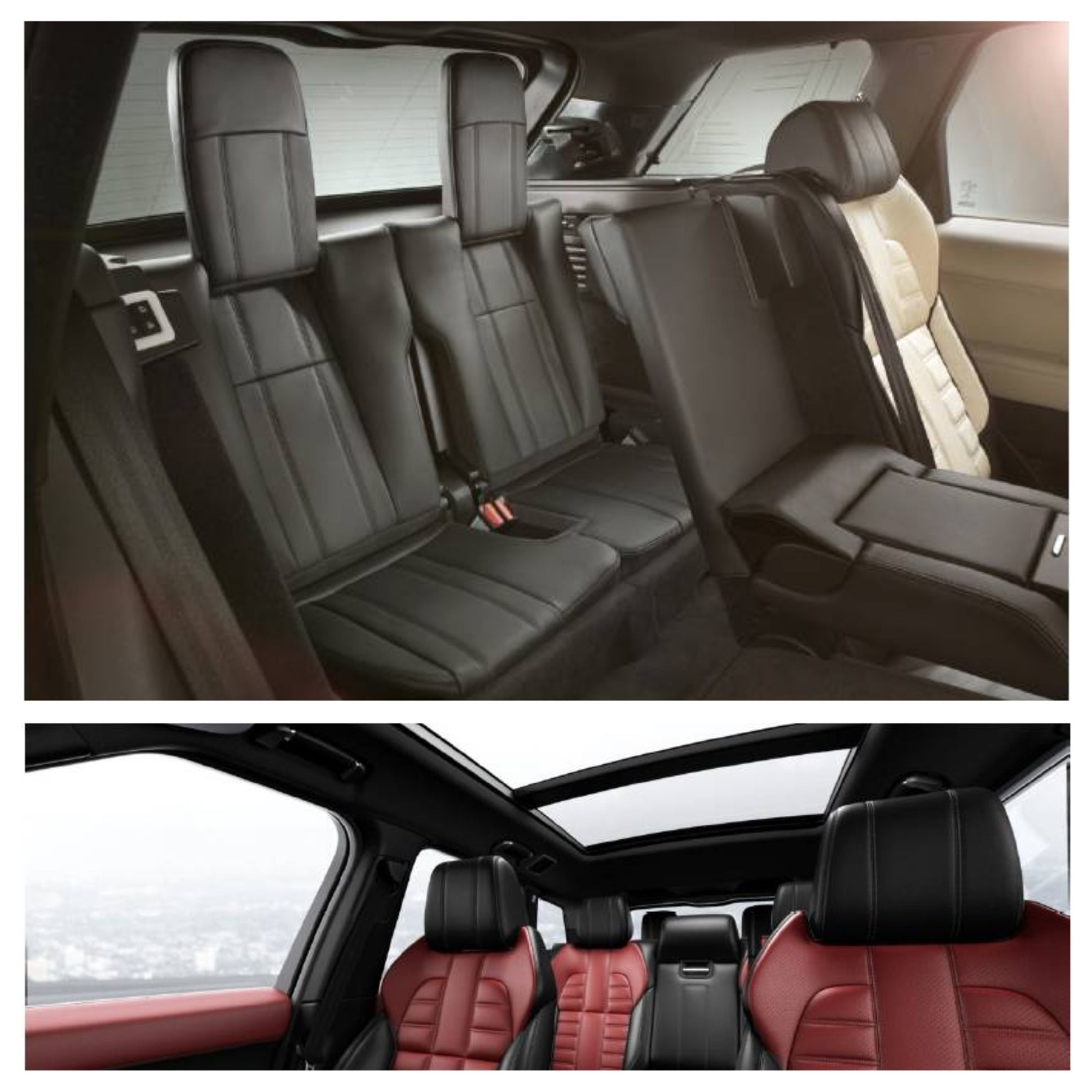 Range Rover 3rd Row >> Third Row Seats Full Size Sliding Panoramic Glass Roof