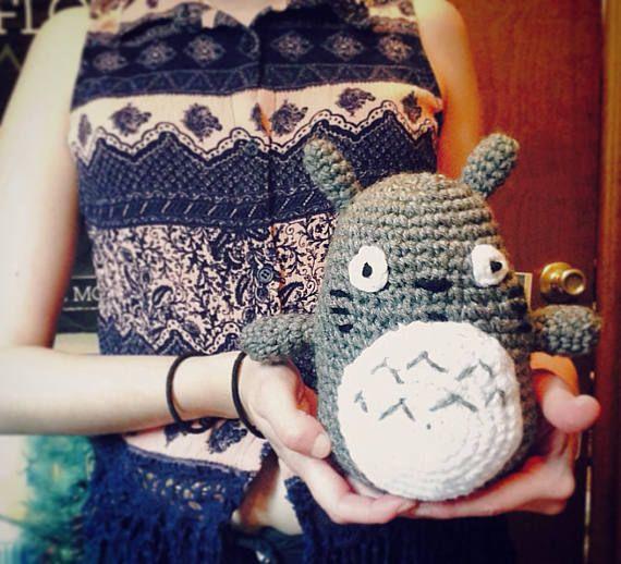 Crochet Totoro Amigurumi Doll