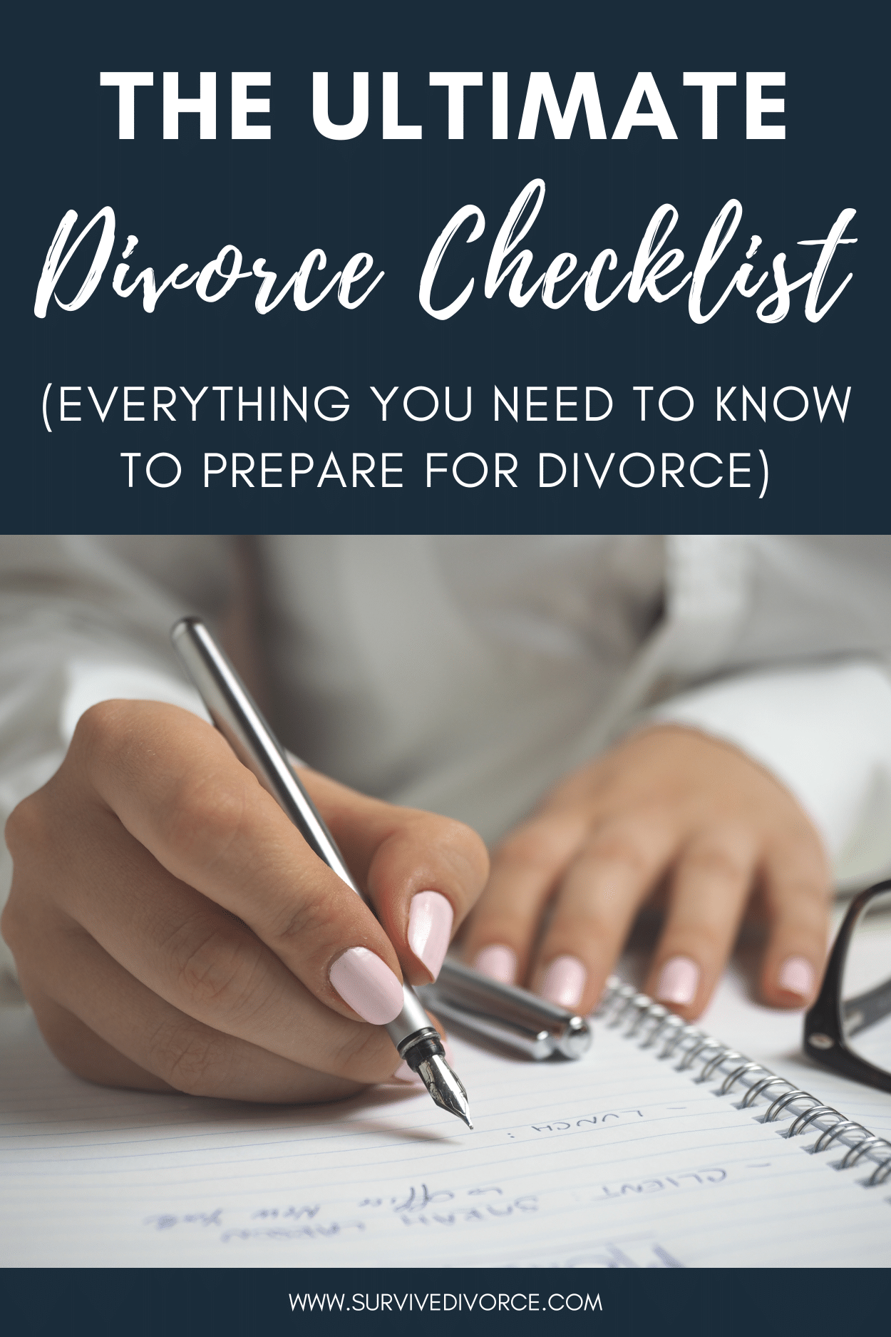 The Ultimate Divorce Checklist for [year] (How to Prepare