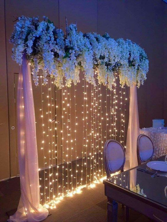 49 ROMANTIC AND WARM FLOWERS TO DECORATE THE WEDDING SCENE - Page 45 of 49 | Wedding scene, Wedding decorations, Quince decorations